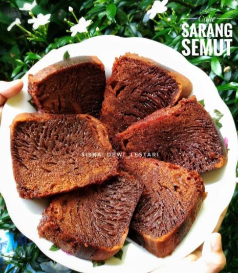 2 Resep Cake Sarang Semut Karamel Gampang Tanpa Mixer
